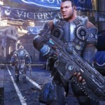 Gears of War Ultimate Edition for Xbox One, seen in a Brazilian web