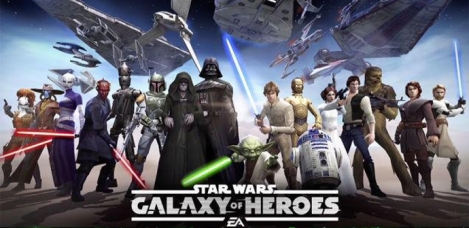 EA shows us the first trailer for Star Wars: Galaxy of Heroes
